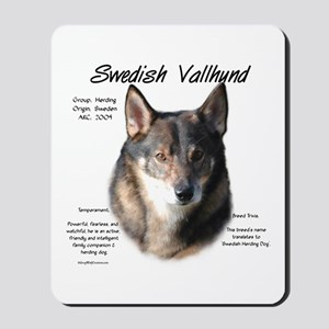 Swedish Valhund Mousepad