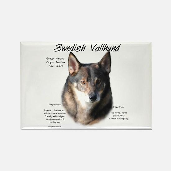 Swedish Valhund Rectangle Magnet (10 pack)