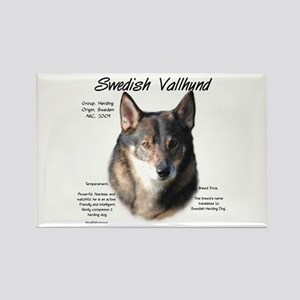 Swedish Valhund Rectangle Magnet