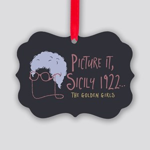 Golden Girls Picture It Ornament
