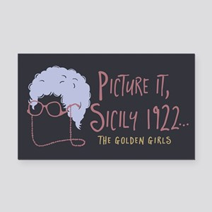 Golden Girls Picture It Rectangle Car Magnet