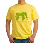 Elephant Facts Yellow T-Shirt