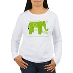 Elephant Facts Women's Long Sleeve T-Shirt