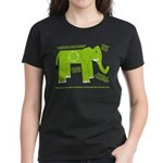 Elephant Facts Women's Dark T-Shirt