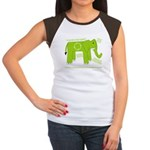 Elephant Facts Women's Cap Sleeve T-Shirt