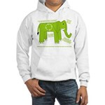 Elephant Facts Hooded Sweatshirt