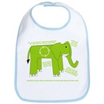 Elephant Facts Bib