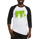 Elephant Facts Baseball Jersey
