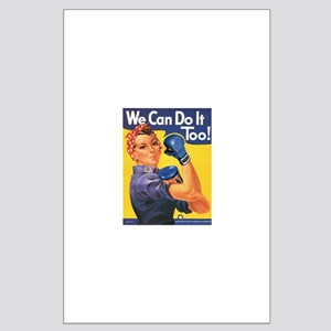 Emma May ( Rosie the Riveter ) Large Poster