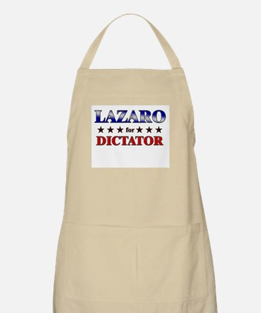 LAZARO for dictator BBQ Apron