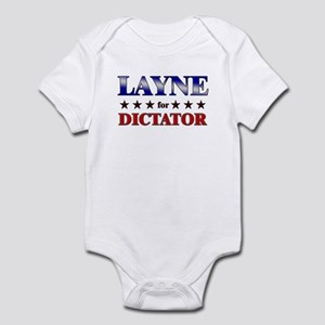 LAYNE for dictator Infant Bodysuit
