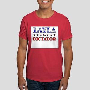 LAYLA for dictator Dark T-Shirt