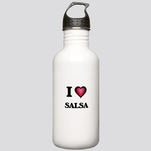 I Love SALSA Stainless Water Bottle 1.0L