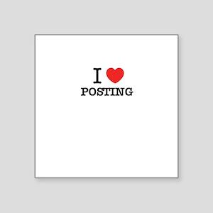 I Love POSTING Sticker