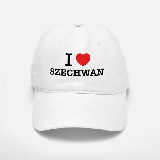 I Love SZECHWAN Baseball Baseball Cap