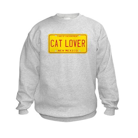 New Mexico Cat Lover Kids Sweatshirt