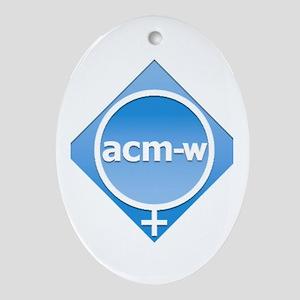 ACMW Oval Ornament