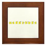 Herbivore Framed Tile