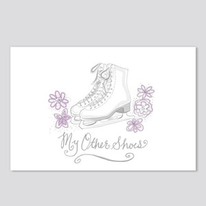 My Other Shoes Figure Skates Postcards (Package of