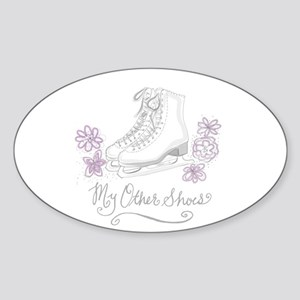 My Other Shoes Figure Skates Sticker