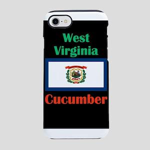 Cucumber West Virginia iPhone 8/7 Tough Case