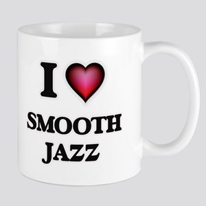 I Love SMOOTH JAZZ Mugs