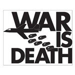 War is Death Small Poster