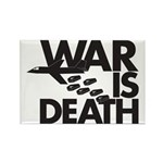 War is Death Rectangle Magnet (10 pack)