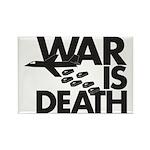 War is Death Rectangle Magnet