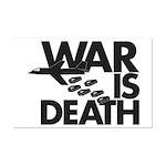 War is Death Mini Poster Print