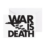 War is Death Greeting Cards (Pk of 20)