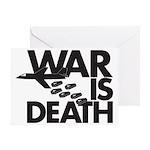 War is Death Greeting Card