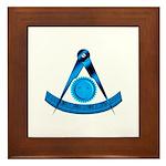 Blue Lodge Past Master Framed Tile