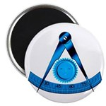 Blue Lodge Past Master Magnet