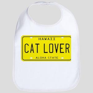 Hawaii Cat Lover Bib