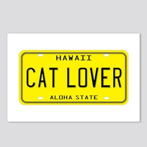 Hawaii Cat Lover Postcards (Package of 8)