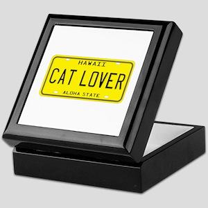 Hawaii Cat Lover Keepsake Box