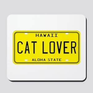 Hawaii Cat Lover Mousepad