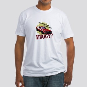HUGGY? Fitted T-Shirt