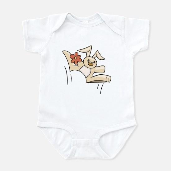 Hoppy Bunny Infant Bodysuit