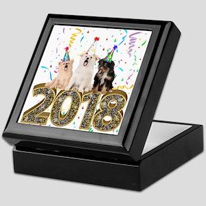 2018: Year Of The Dog Keepsake Box