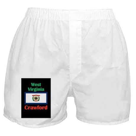 Crawford West Virginia Boxer Shorts