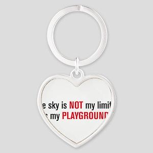 playground black and red Keychains