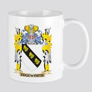 Edgeworth Coat of Arms - Family Crest Mugs