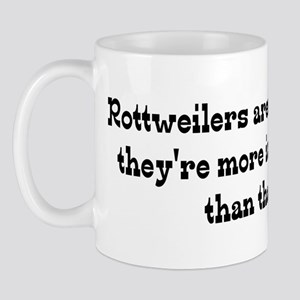 Rottweilers are My Life Mug