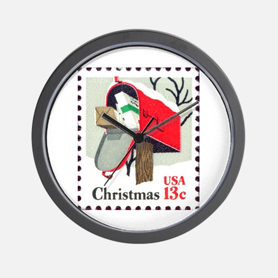 Funny Postage Wall Clock