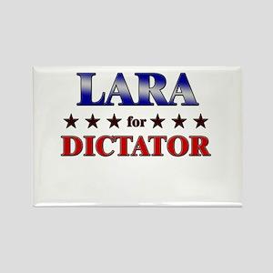 LARA for dictator Rectangle Magnet