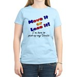Move it Here to pick up my Uncle Women's Light T-