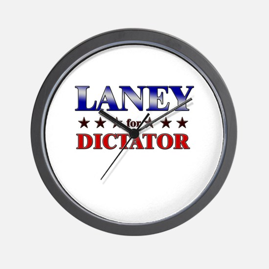 LANEY for dictator Wall Clock
