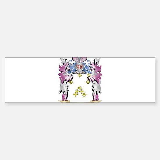 Kime Coat of Arms - Family Crest Bumper Bumper Bumper Sticker